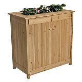 Ergo Garden Deck Box With Planter Canadian Tire Garden Deck Box Outdoor Deck Box Diy Deck