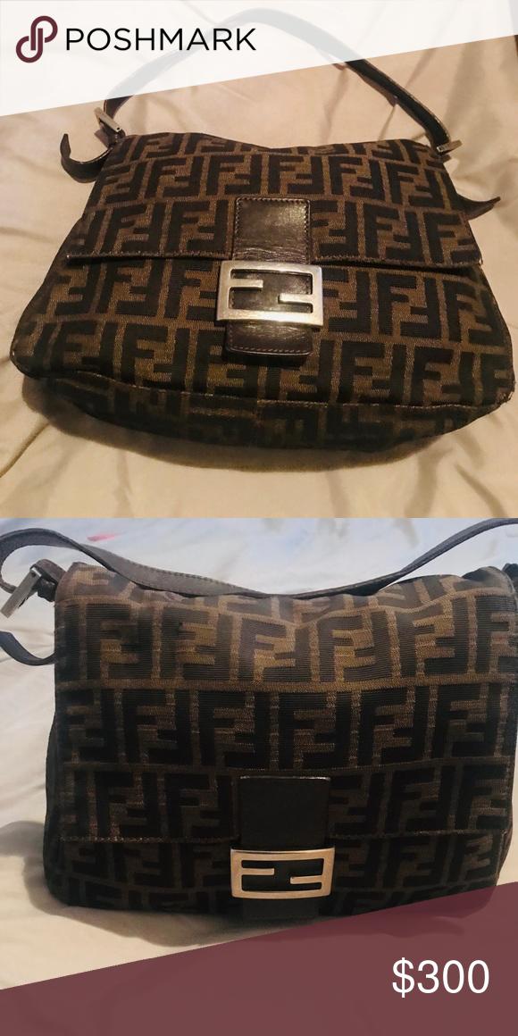 45230b2dceff Fendi Baguette Bag Vintage Fendi purse with zucca print...good condition