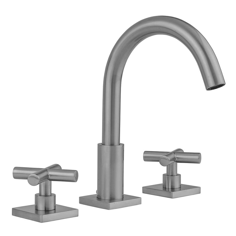 Jack London Kitchen And Bath Jaclo 8881 Tsq462 1 2 Mbk Uptown Contempo Faucet With Square Escutcheons And Contempo S Kitchen And Bath Sink Faucets Faucet