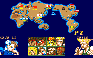 Street Fighter Ii Select Character Google Search Street Fighter Street Fighter Ii Fighter