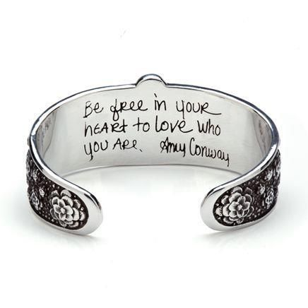 Give gifts with a meaningful message. www.AmyConway.com