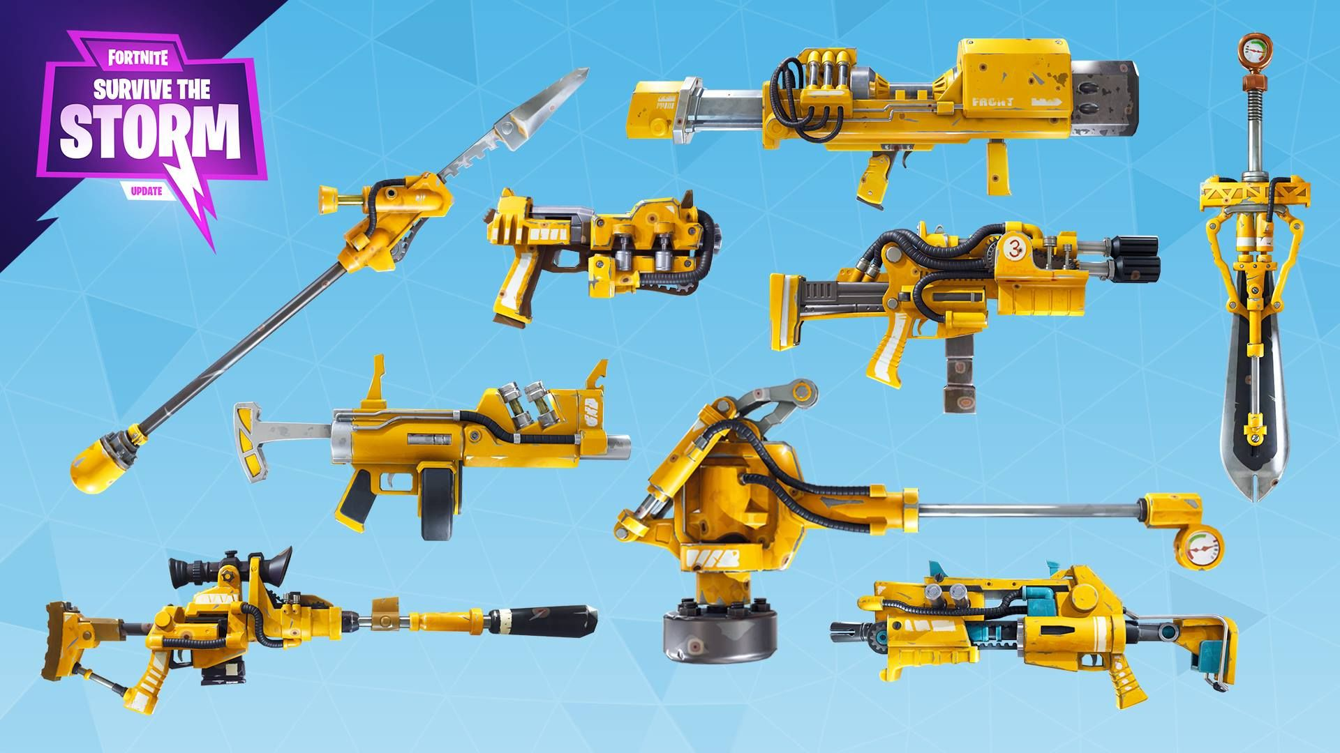 Fortnite | Weapons | Weapons, Weapons guns, Battle games