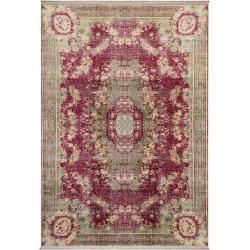 Photo of benuta Teppich mit Print Siljan Beige/Pink 160×230 cm – Vintage Teppich im Used-Look benuta