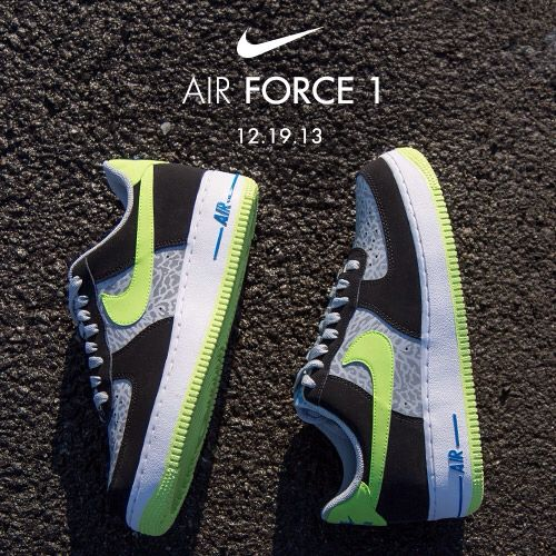 6e8658f01b6365 Available 12 19 13- Nike  Air Force 1 low- Reflect Silver  Volt  Jimmyjazz   trendingnow  Nike  AF1  Airforce1  reflective  IGSneakercommunity  jimmyjazz.com