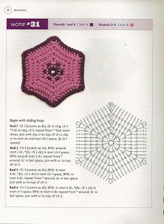 """"""" MOSSITA BELLA PATRONES Y GRÁFICOS CROCHET """": Beyond The Square Crochet Motifs"""