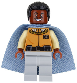 Lando Calrissian Custom Minifigure Star Wars Lego Compatible Action Figure New