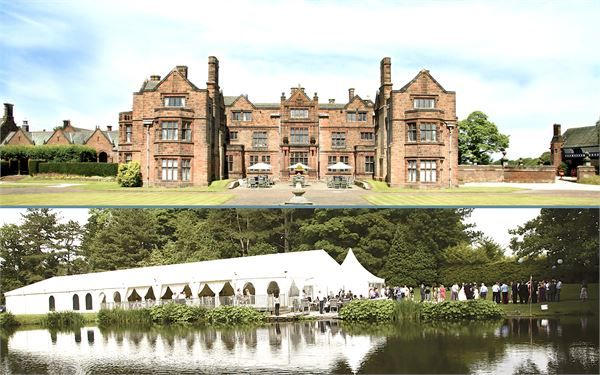 Thornton Manor On The Wirral Is The Perfect Country House Wedding