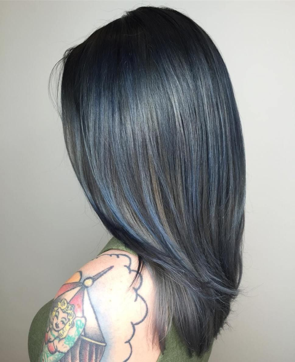 Gimme the Blues: Bold Blue Highlight Hairstyles photo