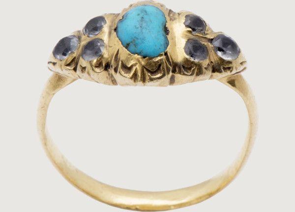 Renaissance Gemstone Ring - Italy, 16th-early 17h century