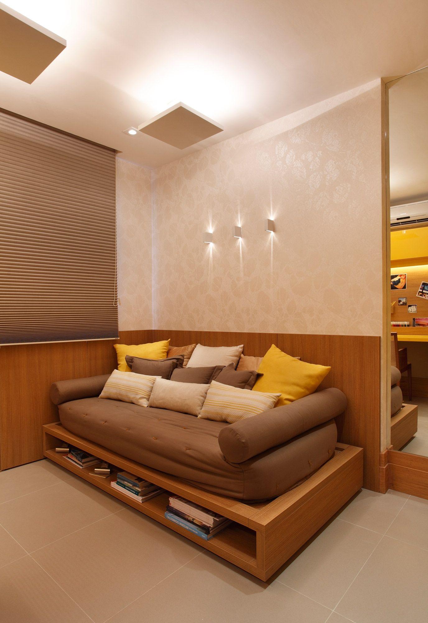 Cama vi vo modelo quadratto em acabamento legno miele - Sofa para cuarto ...