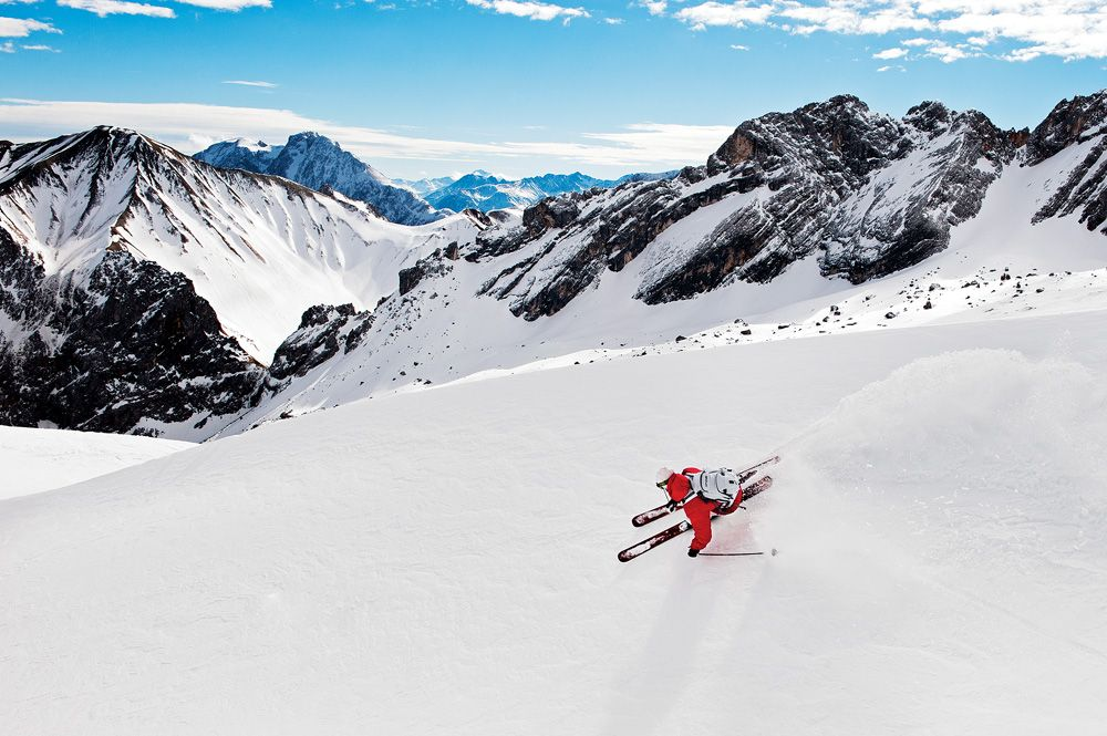 Skiing in Garmisch, Germany. Photo: Mattias Fredriksson.
