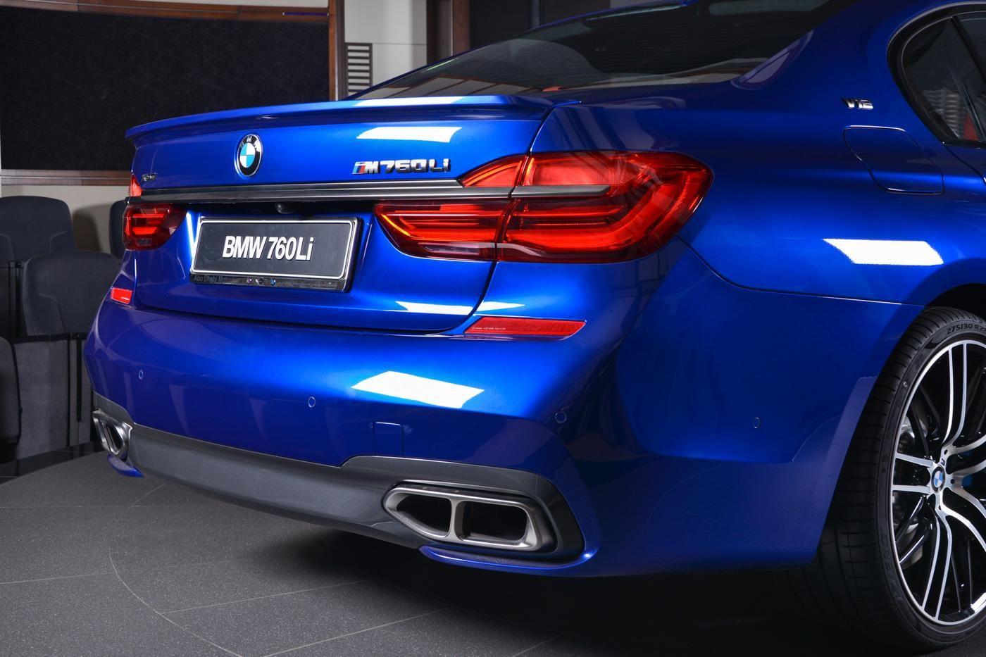 San Marino Blue Bmw M760li Looks Almost Perfect Bmw Xdrive Bmw