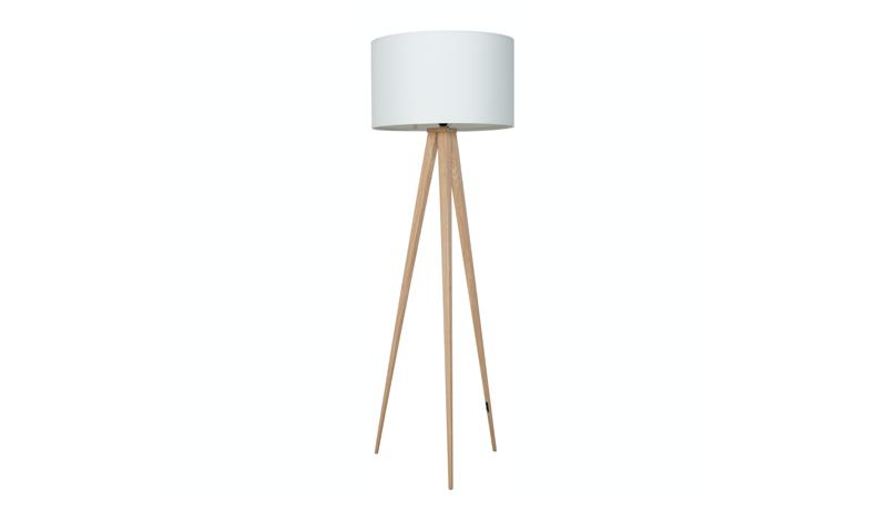 Zuiver Tripod Wood Vloerlamp Tripod Lamp Lampen Zuiver