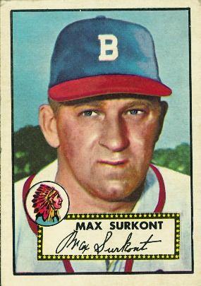 Max Surkont 1952 Pitcher