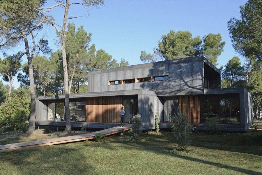 Casas construídas em 5 dias #Construção casa pré-fabricada #Casas - casas modulares