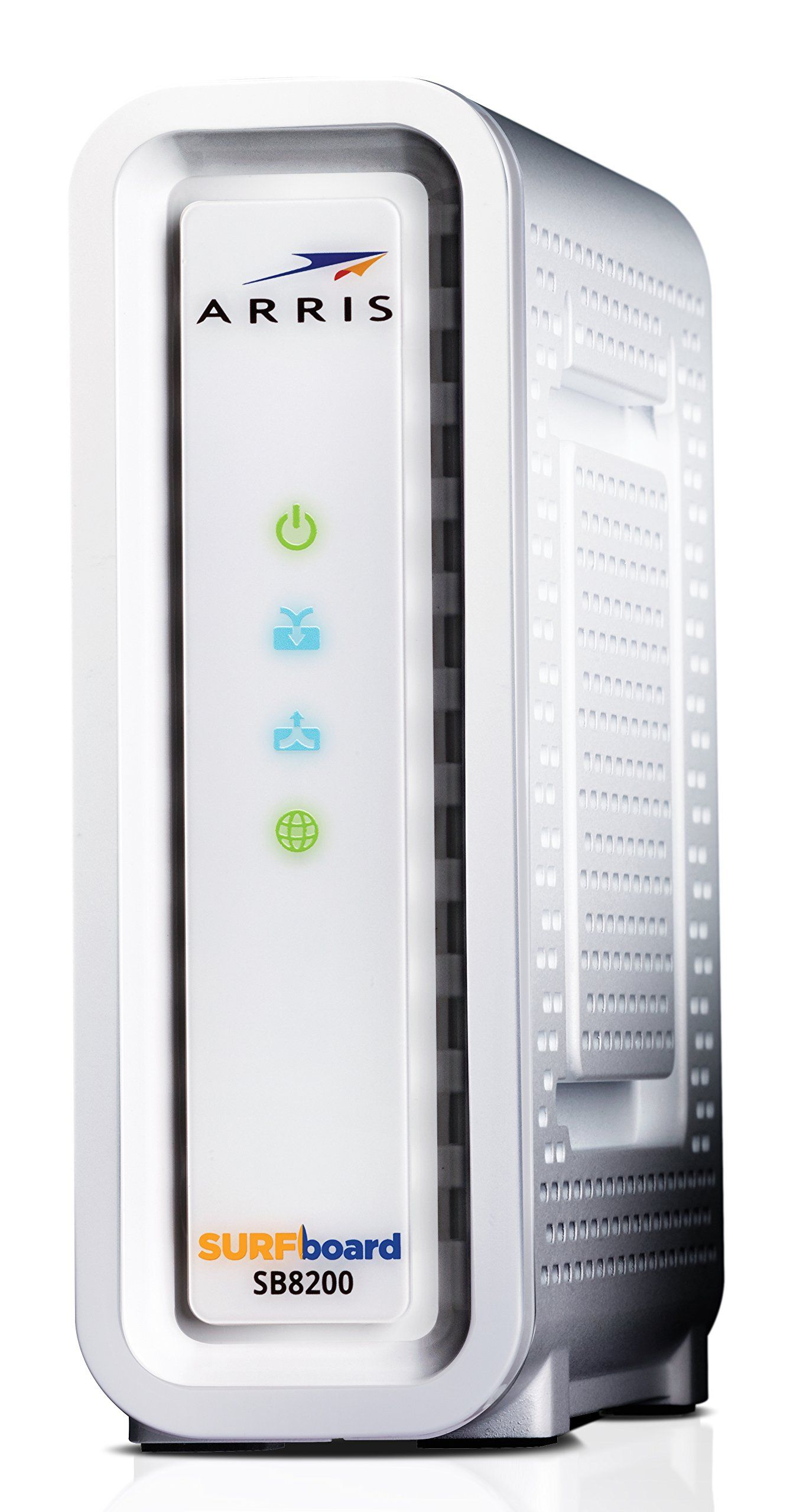 Next Generation Arris Surfboard Sb8200 Docsis 3 1 Cable Modem Retail Packaging White With Images Cable Modem Modems
