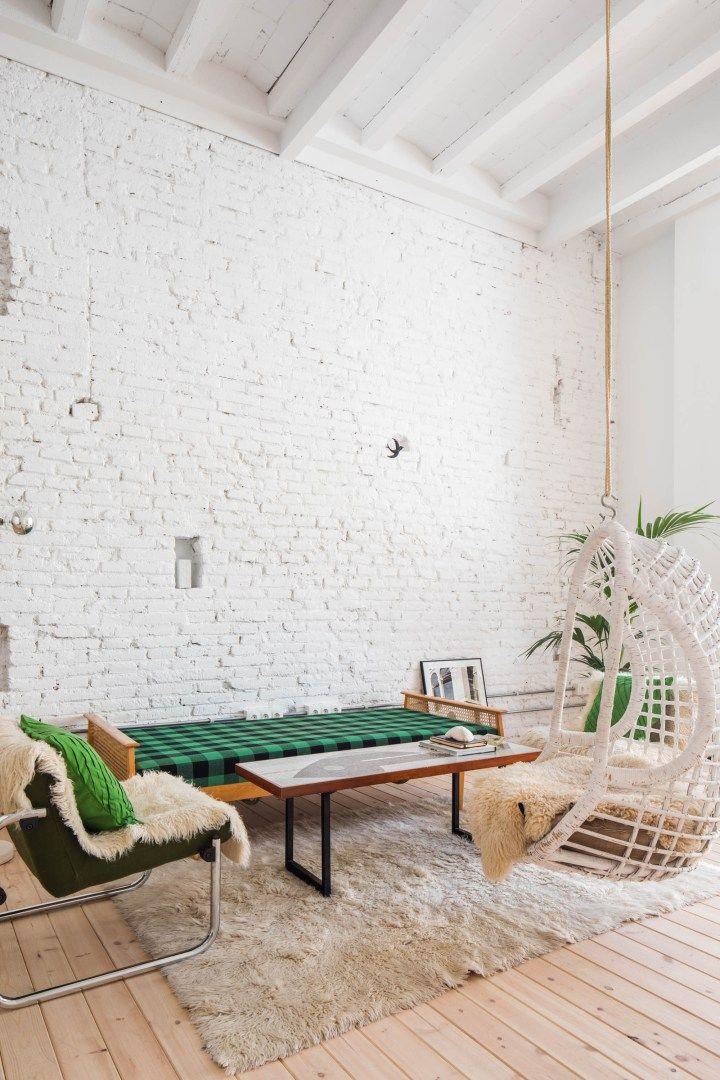 Bajo con terraza y anexo en les corts barcelona deco for Casa minimalista barcelona capital