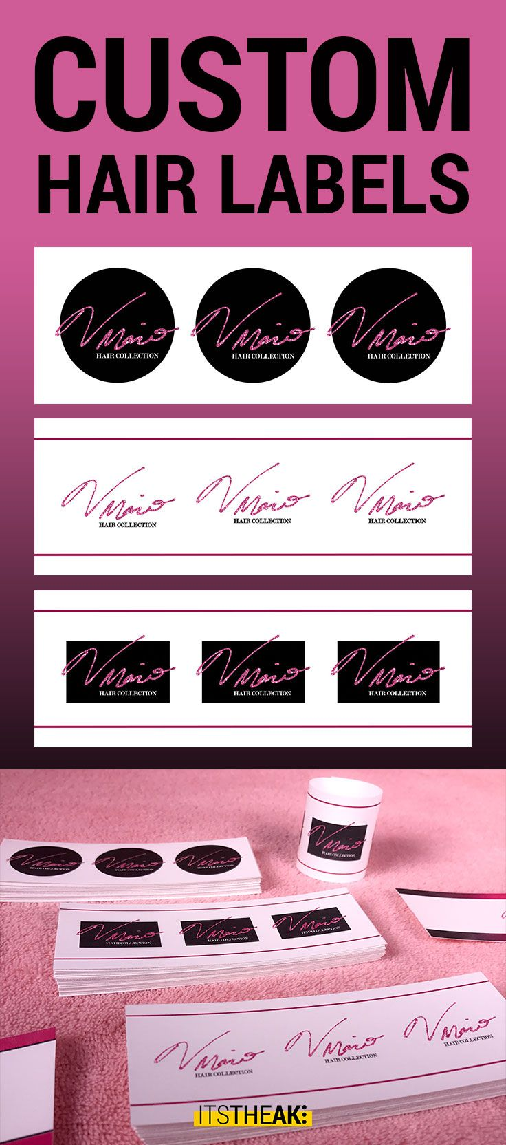 Bundle Wraps (NonAdhesive) Customized With Your Logo