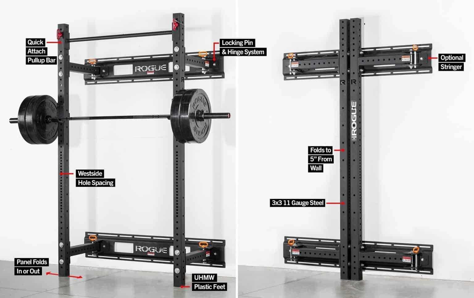 The Best Power Rack For Your Garage Gym Best Rack For 2019 Wall Mount Rack Home Gym Garage At Home Gym