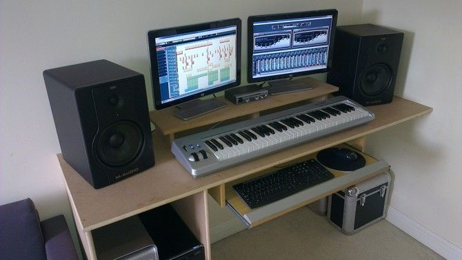 Home Studio Set Up Workstation Setups Home Studio Home Studio Setup Recording Studio Home