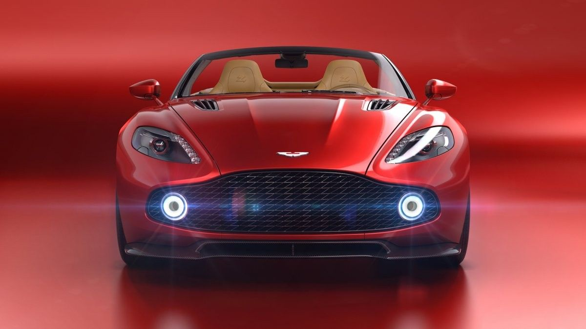 O novo Aston Martin descapotável é uma obra de arte