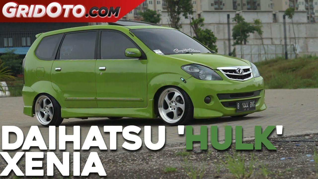 Modifikasi Mobil Xenia Hijau Modifikasi Mobil Mobil Daihatsu