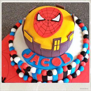 Tarta spiderman 3