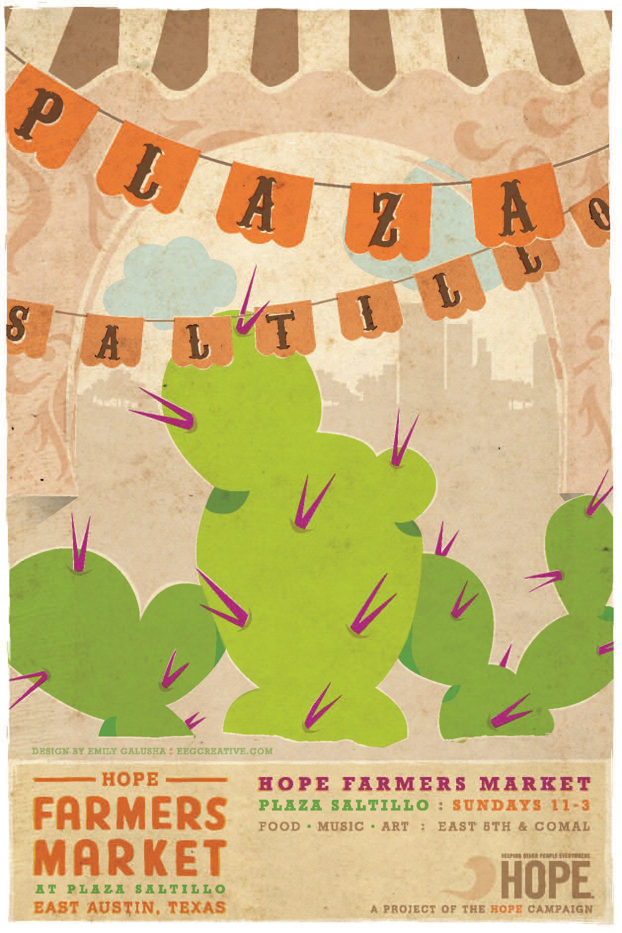 Farmers market poster saltillo poster design farmers