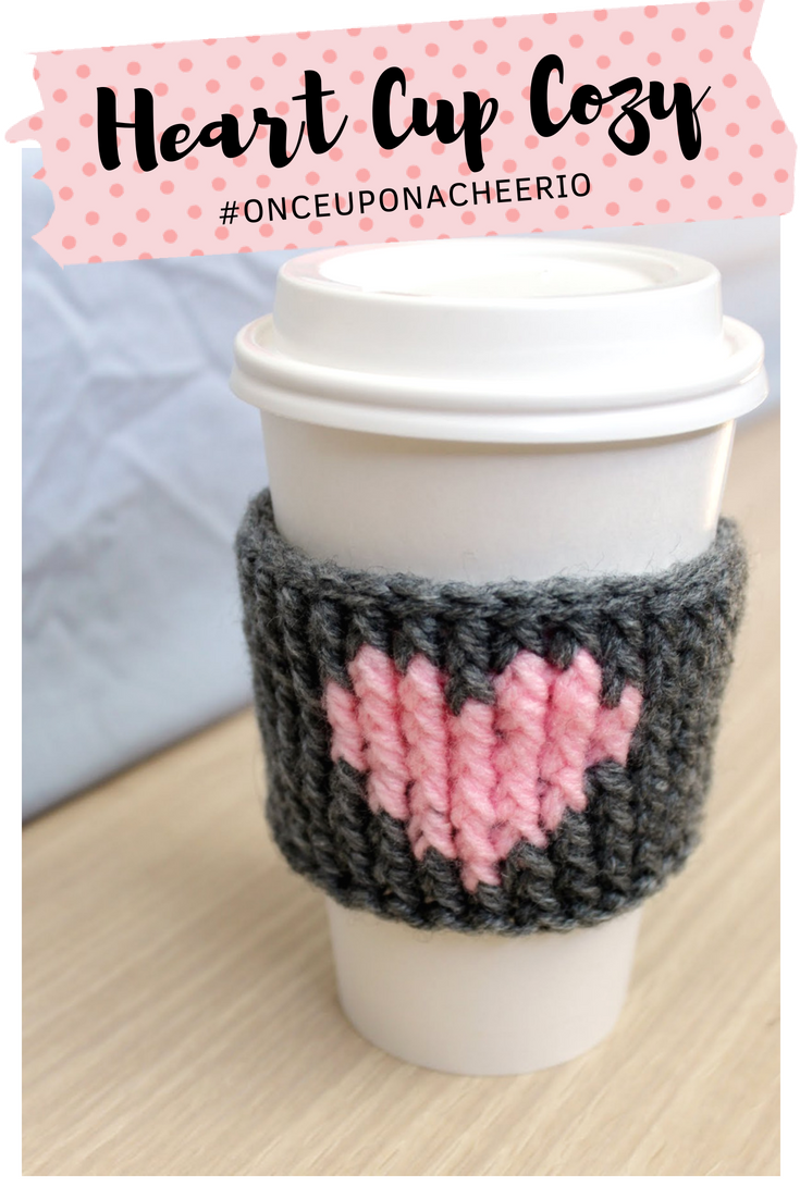 Crochet Heart Coffee Cozy Teacher Gifts Projects To Try Half Double Diagram And On Pinterest Pixel Pattern Free Patterns