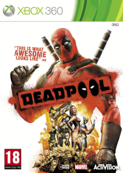 Deadpool Game Exclusive Edition Xbox 360 Cover Art Game And Gamers