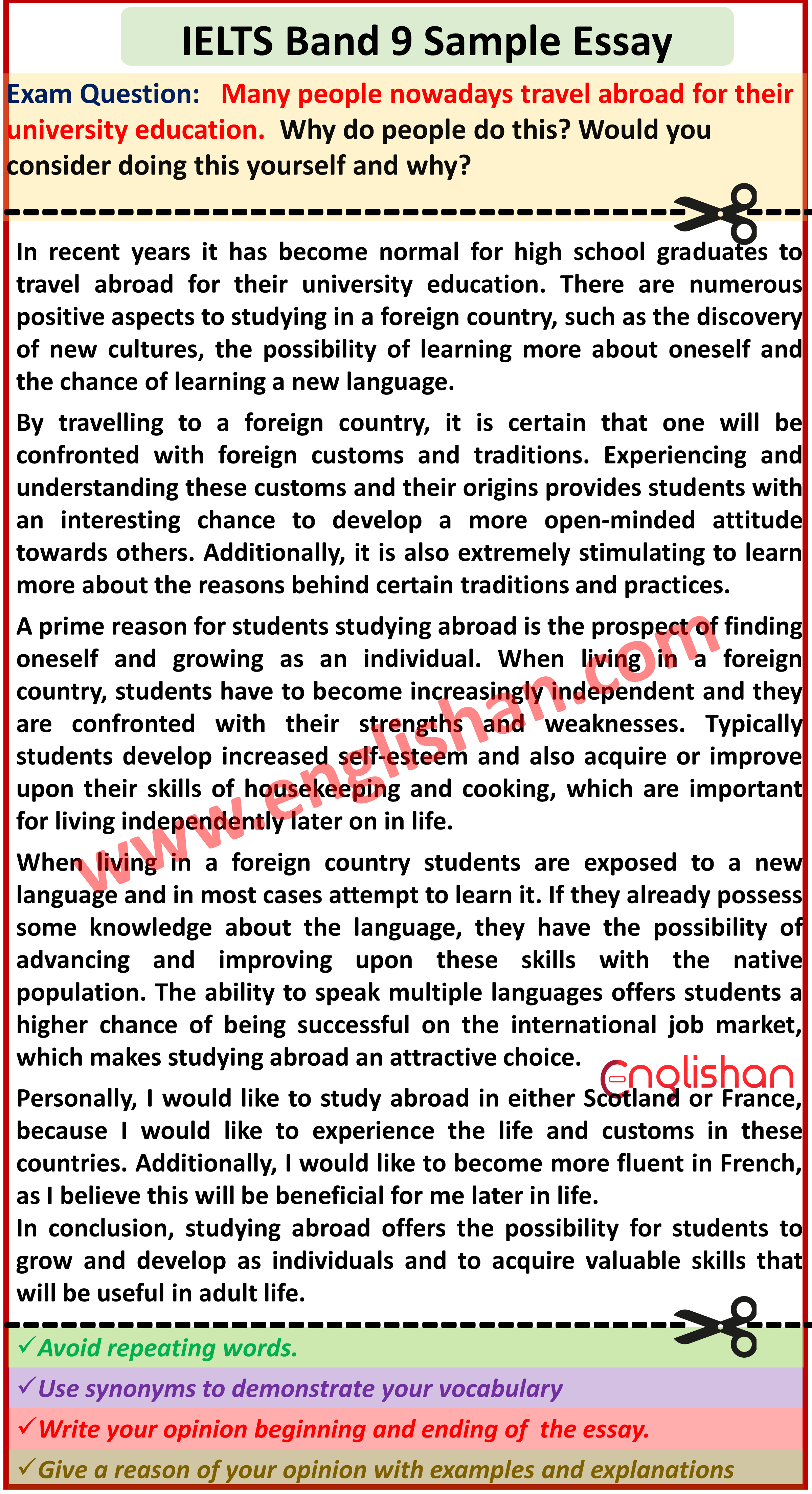 ielts sample essay topics 2020 band 9 in (with images linkedin resume samples first cv no work experience summary for it