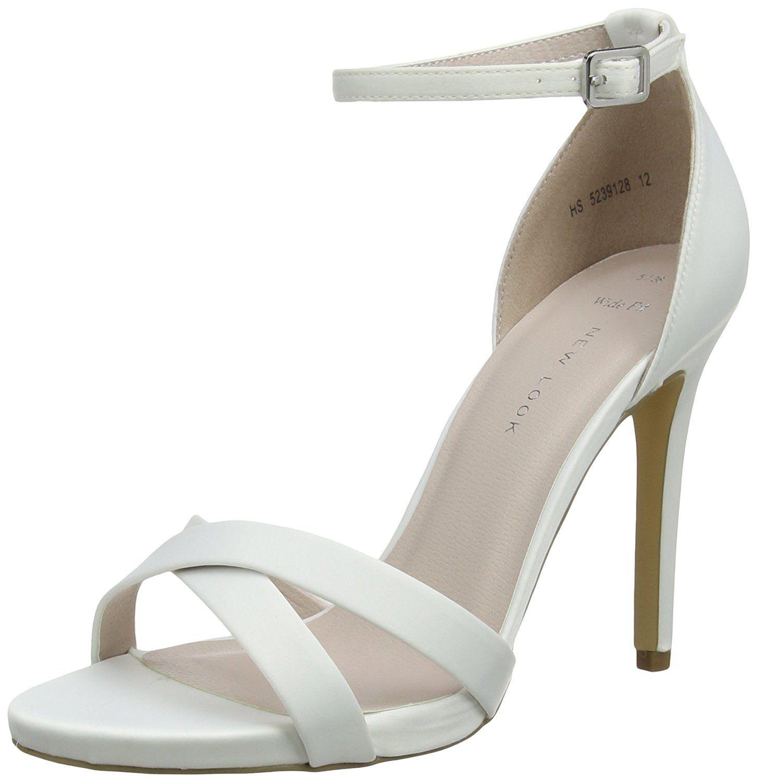 ad35d1f7b1 New Look Women's Wide Foot Zadie Open-Toe Heels | Fabulous Women's ...