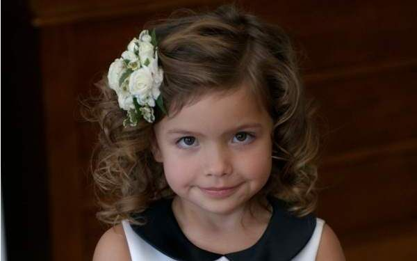 Wondrous Cute Hairstyles For Kids Hairstyles For Kids And Kids Curly Hair Hairstyles For Women Draintrainus