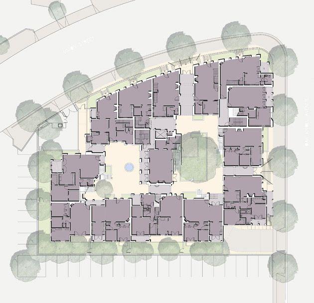 Urban Housing, Granada, Courtyard Apartments