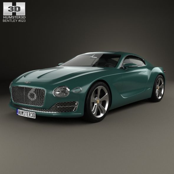 Bentley EXP 10 Speed 6 2015. Fully Editable And Reusable