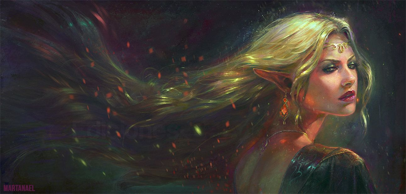 Les superbes digital paintings colorés du maître Marta