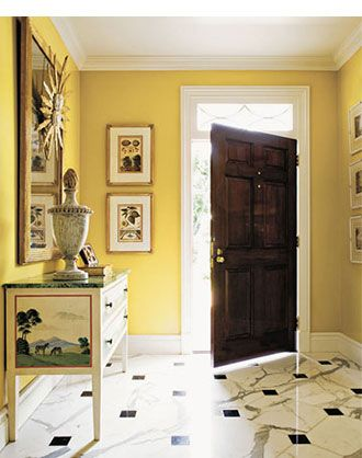 beautiful tuscan foyers | Interior Decorating | Room Color Scheme ...