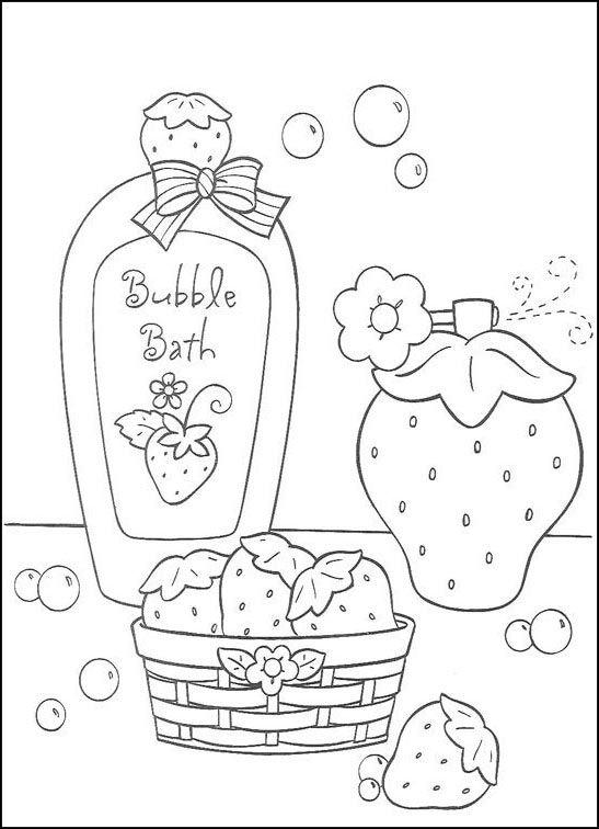 Dibujos para Colorear Fresita-Tarta de Fresa 15 | Dibujos para ...