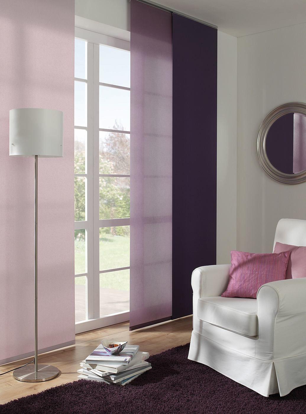 Genial Elegant, Wohnlich Und Sehr Textil Passen Sich Diese Flächenvorhänge Jedem  Einrichtungsstil An Und Lassen Sich