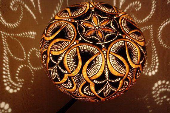 handmade stirring calabash lamp 39 oriental night 39 k rbisse pinterest k rbisse flaschen. Black Bedroom Furniture Sets. Home Design Ideas