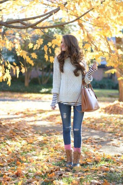 Cozy Outfit Inspiration | theglitterguide.com