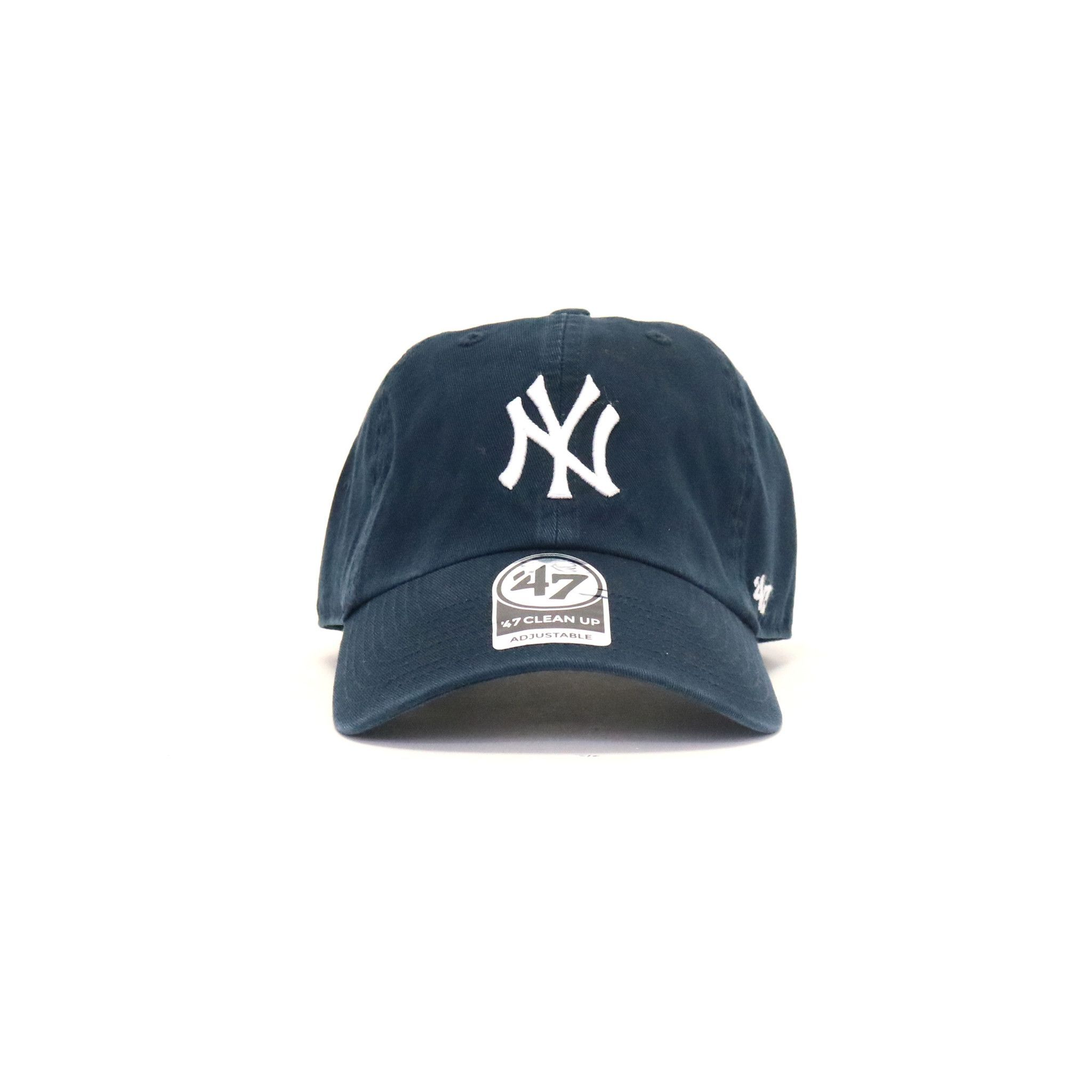 New York Yankees Clean Up Home StrapBack Dad Hat - Navy  99e176857ea