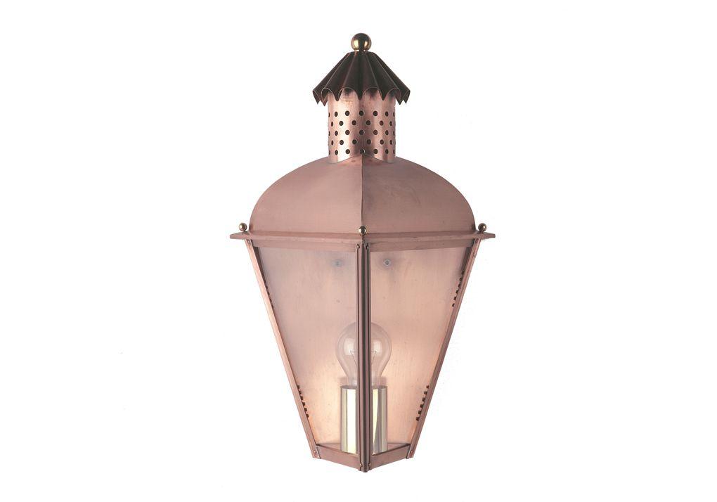 Buitenlamp Model Driehoek Klassieke Koperen