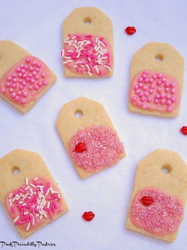 핑크 레몬 티백 쿠키