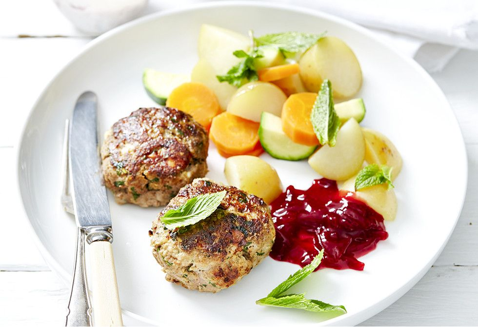 Herb And Feta Beef Rissoles Recipe Beef Recipes For Dinner