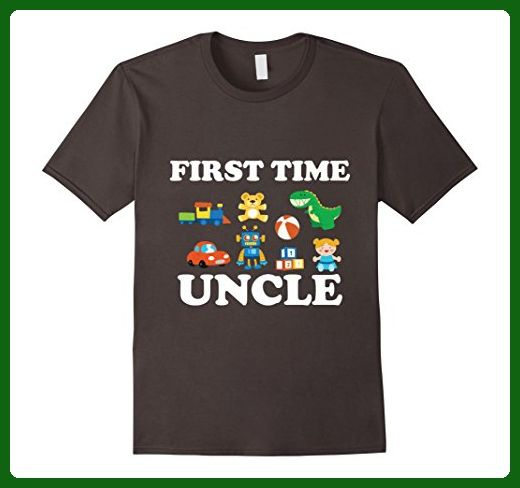 168ba567 Mens First Time Uncle Shirt, First Time Uncle Gifts Funny Uncle Small  Asphalt - Relatives and family shirts (*Amazon Partner-Link)
