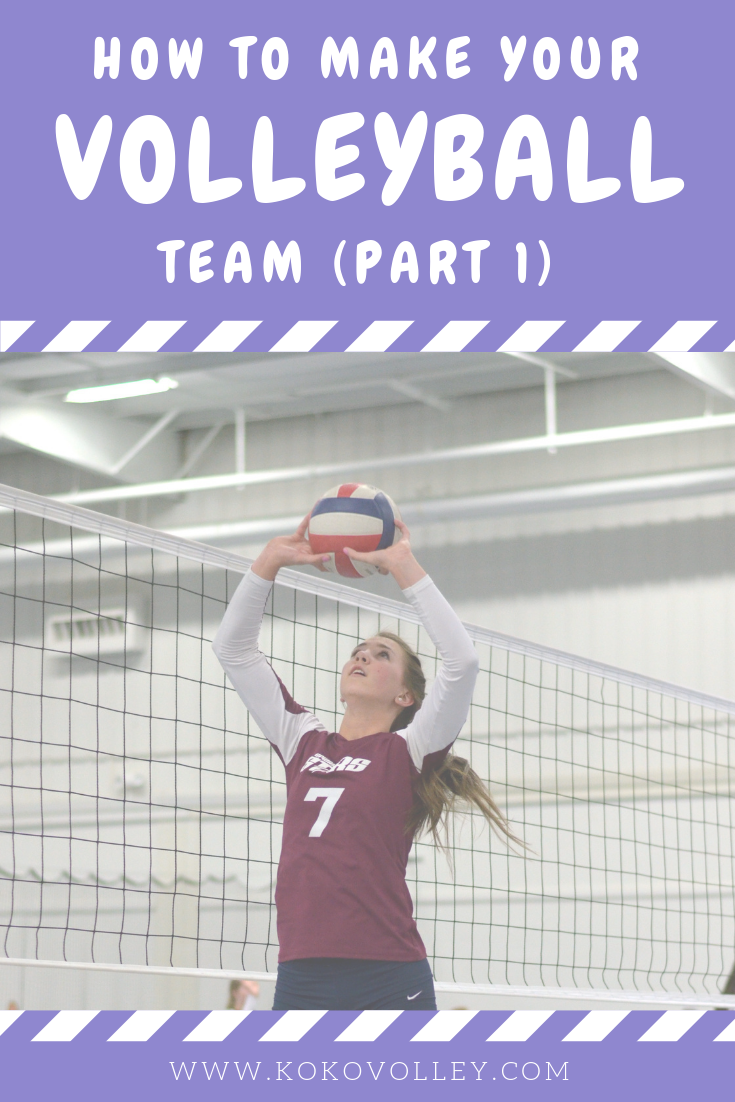 How To Make Your School S Volleyball Team Finding The Tryout Dates Volleyball Volleyball Team Teams