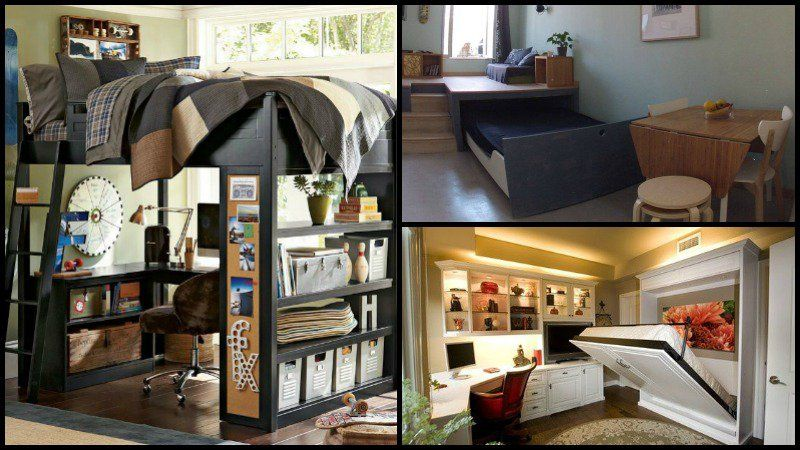 Best 8 Ideas For Maximizing Small Bedroom Space Small Spaces 640 x 480