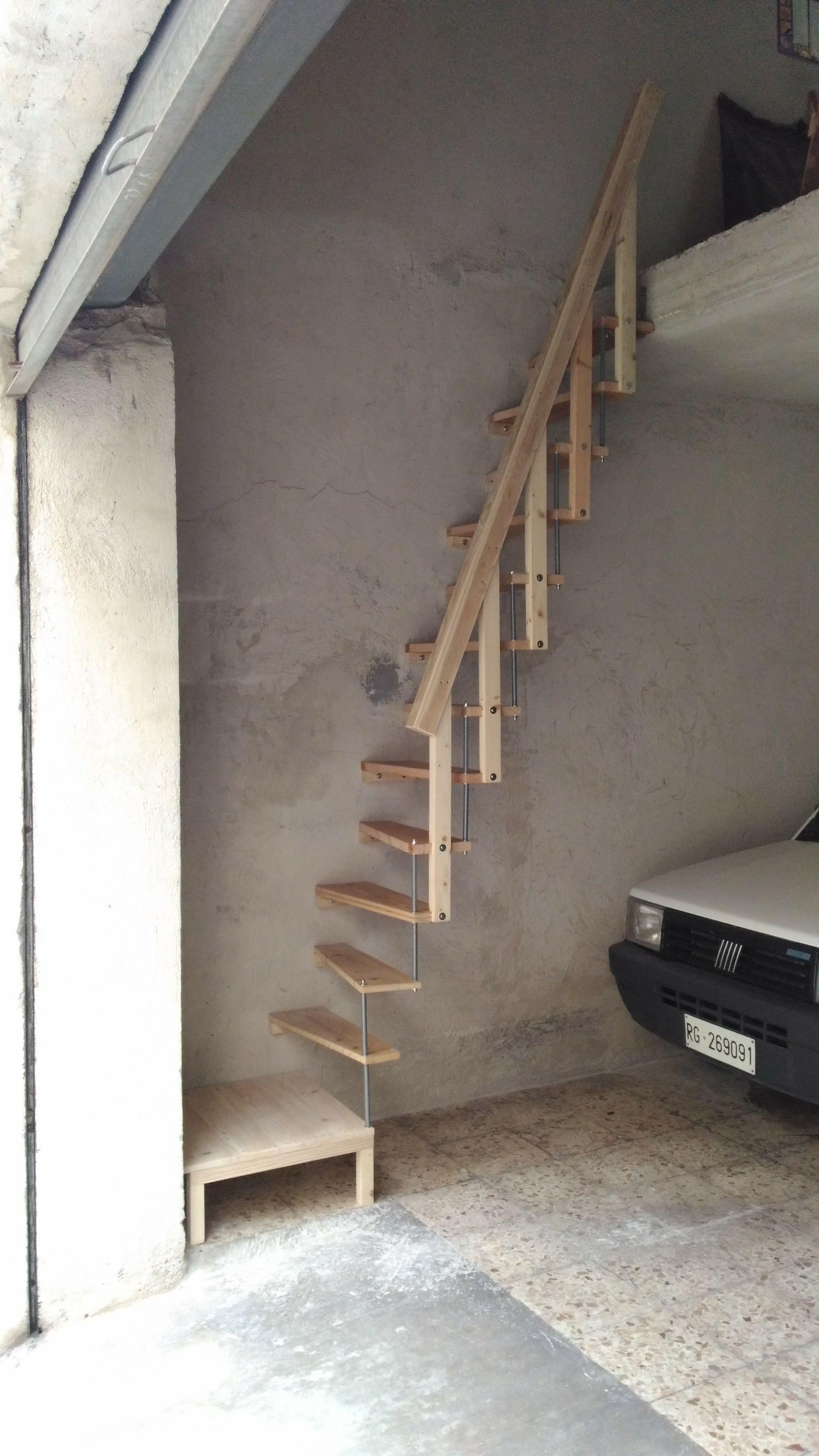 Ringhiera Scala Fai Da Te scala in legno salva-spazio fai da te (con immagini) | scale