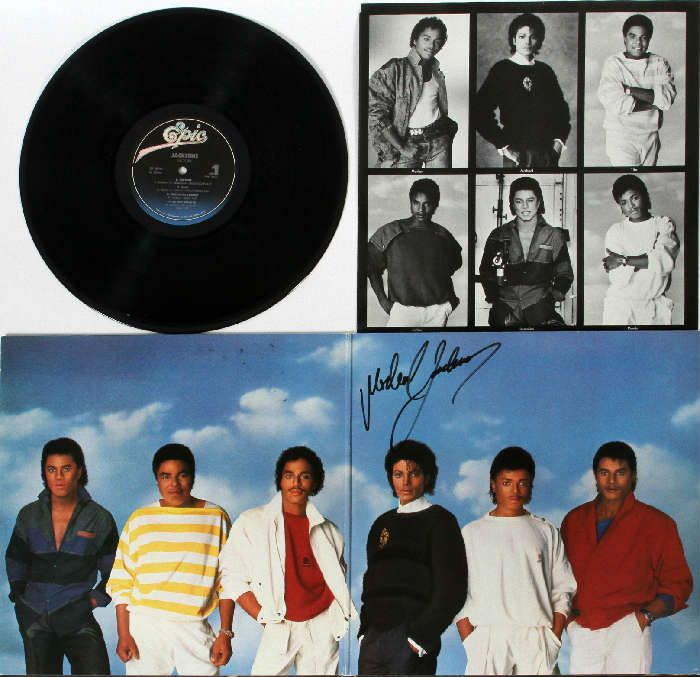 Found on EstateSales.NET: Lot When did Michael's signature look like this?!